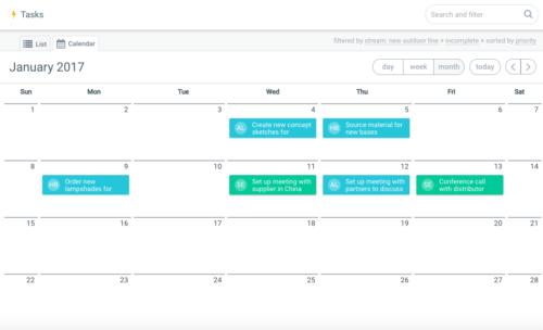 Hibox for task management, Hibox for project management